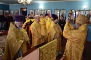 Прошла праздничная Божественная литургия в храме свт. Димитрия Ростовского х.Димитрова