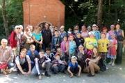 Группа детей посещающих детскую летнюю площадку храма г.Тимашевска совершила поездку на Святую ручку