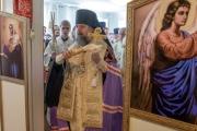 Епископ Ейский и Тимашевский Герман освятил церковь при казачьем кадетском корпусе