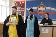 Молебен в отделе МВД России по Тимашевскому району
