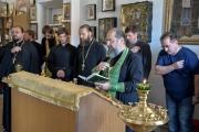 Епископ Ейский и Тимашевский Герман встретился с пострадавшими от града жителями Тимашевского района