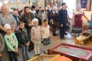 Завершилось пребывание святынь в храмах Тимашевского благочиния