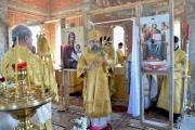 Епископ Ейский и Тимашевский Герман совершил первую Божественную Литургию в хуторе Танцура Крамаренко