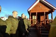 В часовне воинской части №01228 г.Тимашевска прошёл молебен