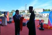 «День города» в г.Тимашевске  пришёлся на 21 сентября, Рождество Пресвятой Богородицы,  благочинный  Тимашевского округа получил награду.