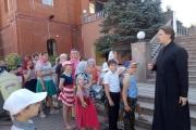 Завершила работу летняя детская площадка при храме Вознесения Господня г.Тимашевска